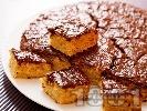 Рецепта Сладкиш с шоколадова глазура